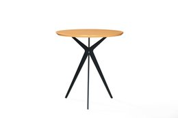 Modern Coating Australia - Teapoy CoffeeTable Small Table for Living Room Bed Room Iron with Copper Coating for Home Decoration