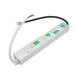 switch ip67 NZ - Edison2011 12V 2.5A 30W Waterproof IP67 Electronic LED Driver Power Outdoor Switching Power Supply Led Strip Transformers Adapter