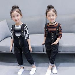 Brown Long Tutu Australia - 2019 Spring girl long sleeve suspender pant kids suit 2pcs per baby clothes frozen boys sets clothing set tracksuit tutu dress Mice