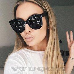 $enCountryForm.capitalKeyWord Australia - High Quality Cat Eye Sunglasses Women Brand Designer 2019 Cateye Retro Sunglass Lady Sun Glasses For Women Shades UV400 Eyewear