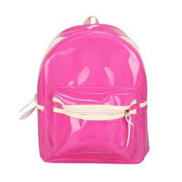 Cool korean Clothing online shopping - Fluorescent Backpack Student Bag With Light Cool Korean Version Of The Backpacks Sports Bag Trend Fashion Men Women qxC1