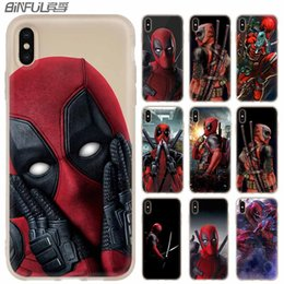 DeaDpool iphone case online shopping - Phone Cases luxury Silicone soft Cover for iPhone XI R X XS Max XR S Plus S SE Coque Cool Marvel Hero Deadpool