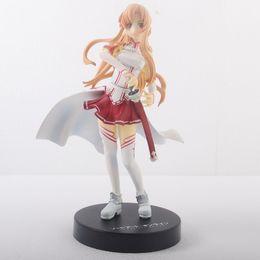 $enCountryForm.capitalKeyWord Australia - Hot ! NEW 16cm Sword Art Online Yuuki Asuna action figure toys Christmas toy MJH58