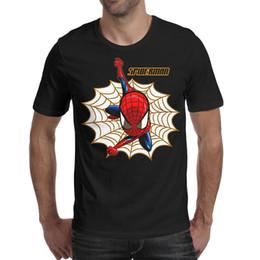 2f6f0758e Amazing spider man logo spiderman Men T Shirt Soft Beach Cotton Short Sleeve  Shirts Man Funny T Shirt Fashion T Shirts for Man
