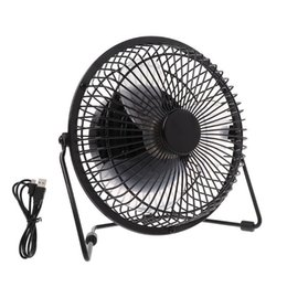 "$enCountryForm.capitalKeyWord Australia - Lileng 6"" 8"" 10"" Large Black All Metal Electric Rotating Usb Powered 18650 Battery Powered Desktop Fan 100% Brand New T190626"
