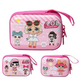 $enCountryForm.capitalKeyWord Australia - Surprise Girls Wallet Cartoon Princess Girls Coin Purse Metal Zipper Storage Bag Teenager Children Portable Handbags C51701