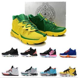 $enCountryForm.capitalKeyWord Australia - New Box 2019 With Kyrie IV 5 Basketball Shoes Mens IV 5 Gold Championship MVP Finals training Sneakers Sports Running Shoes Size 7-12