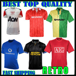 92a936b1645 thailand 2010 2011 Manchester Retro SOCCER Jerseys 11 12 ROONEY 10 92 94  BECKHAM 98 99 RONALDO 2002 2004 United 07 08 FOOTBALL SHIRT maillot