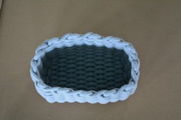 $enCountryForm.capitalKeyWord Australia - Handmade ECO-friendly Housekeeping cotton rope For baby Toys sundries Organization household Storage basket