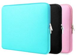 Wholesale Laptop Notebook Australia - Ordinary Laptop Sleeve 14, 15.6 Inch Notebook Case 13.3 Macbook Pro 13 Case Laptop Cases 11.13, 15 Inch Protective Case LLFA