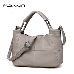 Discount best designer tote bags - Best Special Offer New Bucket Quality Genuine Leather Women Handbags 2018 Brand Tote Bag Plaid Top-handle Famous Designe