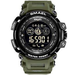 $enCountryForm.capitalKeyWord Australia - SMAEL Fashion Luxury Smart Men Watch Waterproof Bluetooth Sport Wrist Watch Android IOS Phone Mens Clock reloj inteligente mujer