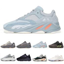 Venta al por mayor de 2019 Venta Vanta Analógica Geode Cemento Inercia Estática Kanye West V2 Wave Runner Zapatos Para Correr Para Hombres Para Mujer Malva Deportes Zapatillas De Deporte Zapatos