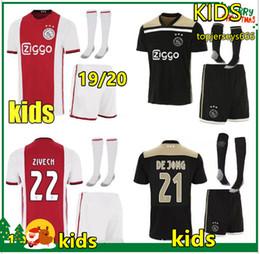 87a5cee7a9a Ajax Jersey Kids UK - Hot Ajax FC soccer jersey kids 2019 2020 football  kits 19