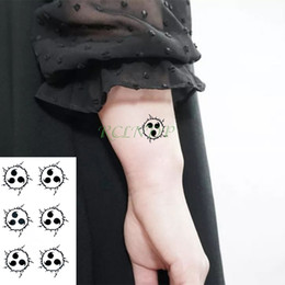 tattoos hand for man UK - heap Temporary Tattoos Waterproof Temporary Tattoo sticker Naruto Anime fake tatto stickers flash tatoo hand foot body art for girl men w...