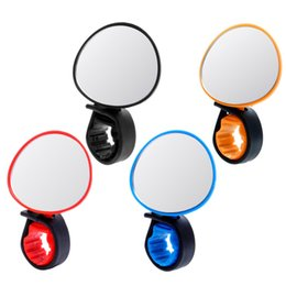 $enCountryForm.capitalKeyWord NZ - 500PCS Bicycle Cycling Universal 360 Degree Rotate Adjustable Rear View Mirror Handlebar Rearview Mirror bike Flexible Safety Rearview