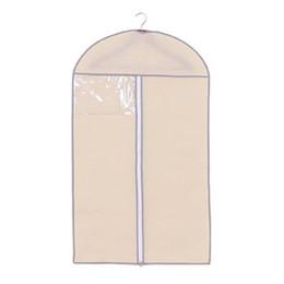 5fd5ce21254e Wholesale Clothes Covers UK - 1PCS Clothes Storage Bag Coat Clothes Garment  Hanging Dustproof Cover Business