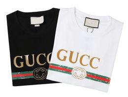 af8b9663342e8a Vente chaude Designer De Luxe Europe Italie Vintage Coco Capatain HOMMES  Tshirt Mode Hommes Femmes T-shirt Casual Coton Tee Top