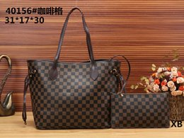China 8GUCCI 8Louis Vuitton new high-end classic designer hand ladies leather handbag high-end portable two-piece package fashion luxury bag supplier polyester package ribbon suppliers