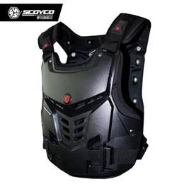 Scoyco Racing Gear Australia - Professional Motorcycle Back Protector Jacket Motocross Off Road Body Pads Vest Pad Racing Protective Guard Gear Scoyco AM05 #70880