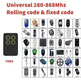 868mhz Remote Control Australia - NEW 10piece Self-learning Universal remote control clone Multi frequency copy 280-868mhz
