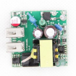iphone pcb board UK - OEM ODM dual USB 5V 2A 2.1a 2.22 amp Charger pcba 10w PCB Circuit Board Assembly 5v2.1a mobile adapter PCBA Design