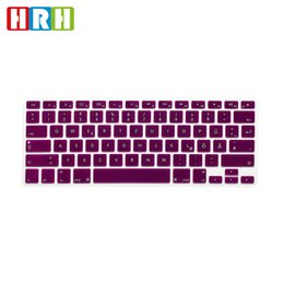 Macbook Retina 13 Inches Australia - HRH German Silicone Keyboard Cover Skin Cover Protector Protective Film For Macbook Air 13 1517 Inch Pro With Retina English Version