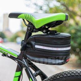 18 Bicycle Australia - Leadbike Bicycle Saddle Bag Waterproof 18 Brightness Led Tailight Big Capacity Riding Bag Bike Rear Seat Pack Tail Pouch