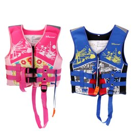 $enCountryForm.capitalKeyWord Australia - Pink Blue 2-6 Years Old Kids Safety Life Jackets Vest with Emergency Whistle for Swimming Kayaking Water Sports
