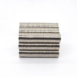 Neodymium Magnet Disc N35 Australia - ZHANGYANG 50Pieces Pack 10 mm x 1mm Magnetic Materials Neodymium Magnet Mini Small Round Disc Magnet Home Decorations Fridge N35 10*1mm