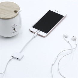 Max audio online shopping - Headphone Audio Adapter Music For iPhone Plus X XS Max IOS For lighting to mm Earphone Jack Aux Charging Charger