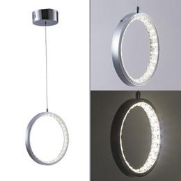 $enCountryForm.capitalKeyWord Australia - Circle led crystal Rings light new hanging ceiling LED Ceiling lamp lighting Fixture for Corridor hotel Dining Room Lights Living Room