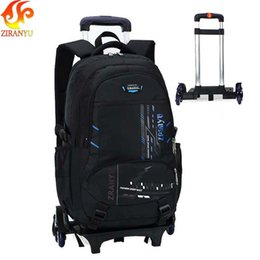$enCountryForm.capitalKeyWord Australia - Smirnoff High-capacity Student Shoulder Backpack Rolling Luggage Children Trolley Suitcases Wheel Cabin Travel Duffle School Bag