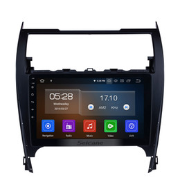 Camry Android Dvd Gps Australia - Android 9.0 10.1 Inch HD Touch Screen Car Stereo GPS Navigation for 2012-2017 TOYOTA CAMRY with Bluetooth WIFI Support DVR OBD2 TPMS car dvd