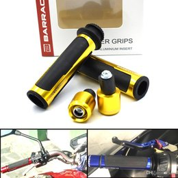 Motorcycle Grip Caps NZ - For 7 8 '' 22mm Universal CNC Street & Racing Motorcycle Racing Grips Motorcycle Handle CAPS Grips Grips Good Quality