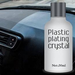 Automotive Paintings Australia - Newest Car Plastic Plating Refurbishing Agent Automotive Plating Agent Coating Polishing Car Protection For Paint 30ml