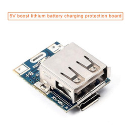 Wholesale 5V Voltage Regulators Step Up Module Lithium Battery Charging Protection Board
