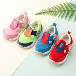 $enCountryForm.capitalKeyWord Canada - kids summer shoes baby girl sandals fristwalker shoes toddler boys breathable barefoot soft sole garden