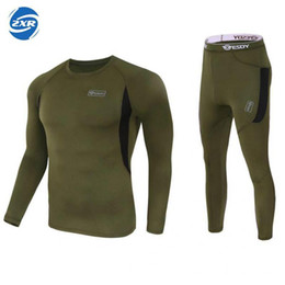 Full hunting camouFlage clothing online shopping - Outdoor Tactical Camouflage Quick Dry Long sleeved T shirt Army Military Breathable Tights Hunting Clothing Shirts Sportwear C19040401