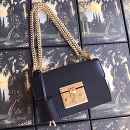 Оптовая классических цепи кошелька мешок плечо цепи сцепление сумка сумка для женщин Вечерних сумок Отличного кожаного кошелька качества Посланник на Распродаже