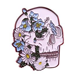 $enCountryForm.capitalKeyWord NZ - Skull Life Pin Badge