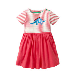 Girls embroider dress online shopping - Kidsalon Baby Girl Clothes Summer Girls Dress Unicorn Print Princess Dress for Kids Designer Clothes for Girls