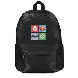 $enCountryForm.capitalKeyWord Canada - Package,backpack League Flash Superman Batman and Green Lantern Logos black cool Casualpackage durable yoga schoolbackpack