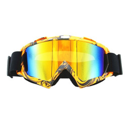 goggle ski anti uv NZ - 100% Uv Protection Anti Fog Skiing Snow Snowboard Goggles Motocross Cycling Glasses Downhill Dustproof Racing Windproof Eyewear