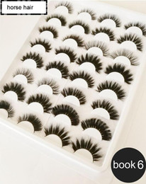 $enCountryForm.capitalKeyWord Australia - Wholesale popular new design 3d mink hair lashes 3d silk hair eyelashes with private label High quality with lower price 16 pairs eyelashes
