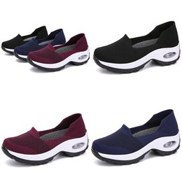 cheap ladies sports shoes NZ - 2020 Black blue RED GIRL women Running Shoes LADY Simple TYPE10 Jogging Brand low cut fashion cheap Designer trainers Sports Sneakers 39-44