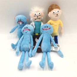 Toy boy movie online shopping - Rick And Morty Plush Toy Doctor Blue Stuffed Doll Embroidery Birthday Gift For Children Boy Girl New pb D1