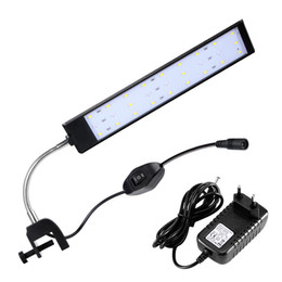 Flexible clamp online shopping - Houkiper LED Aquarium Lamp Fish Tank Light Flexible Energy Saving Adjustable Clamp Clip Aluminium Alloy Shell