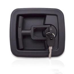$enCountryForm.capitalKeyWord Australia - plastic Industrial door lock folding knob T-handle box lock Chassis cabinet distribution box automation equipment pull lock
