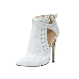New jewellry online shopping - ZDONE Ladies New Classic Ankle Boots Crystals Jewellry Wedding Prom Booties Fall Autumn Fashion Evening Office Dress Shoes N070